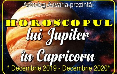 Horoscopul lui Jupiter in CAPRICORN