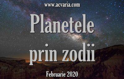 planete in zodii februarie 2020