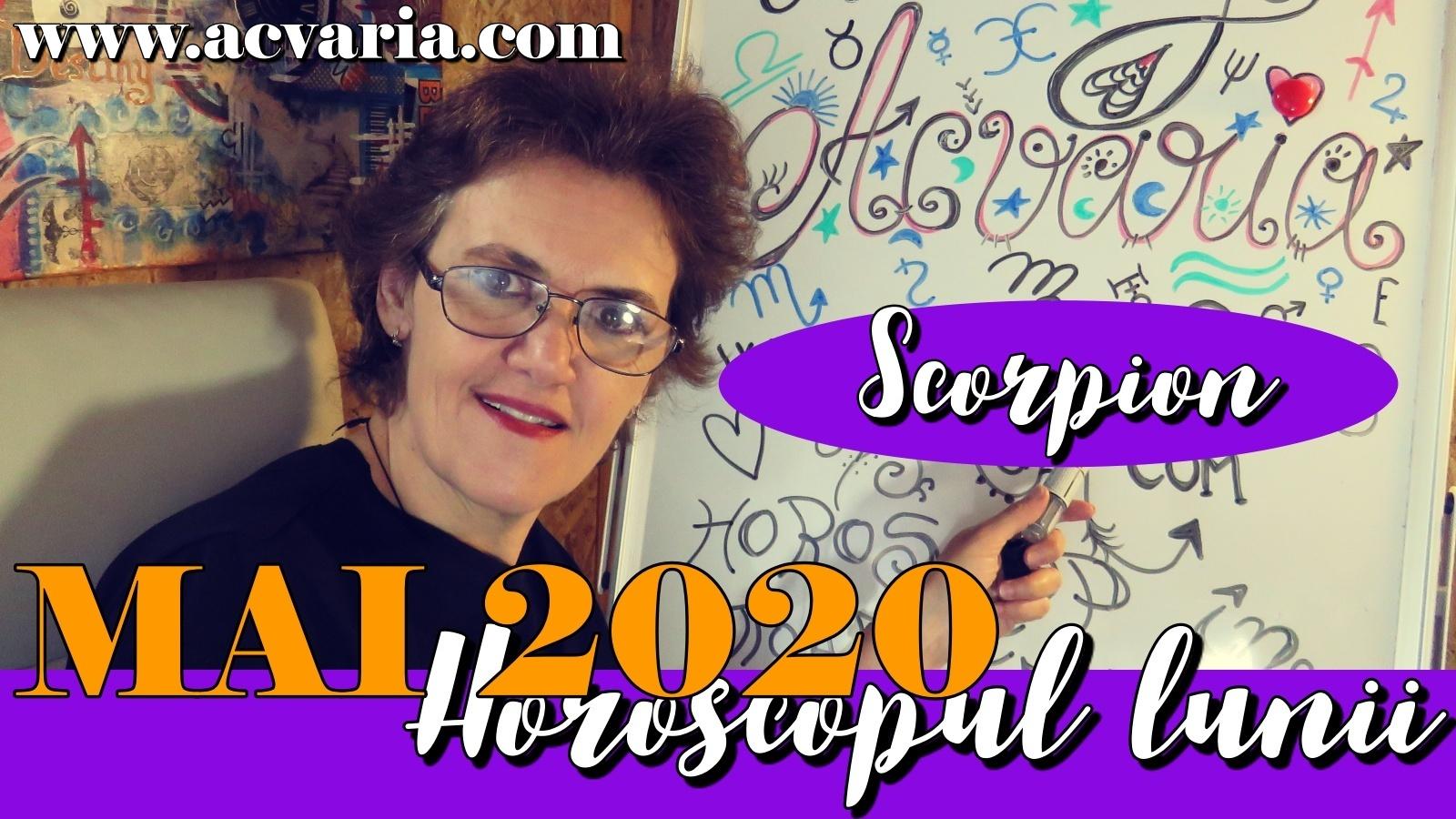 Horoscopul lunii MAI * Zodia Scorpionului