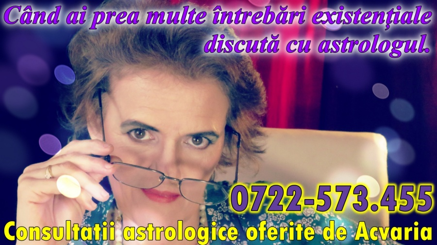 Date de contact astrolog Acvaria