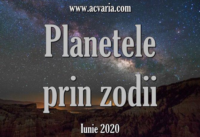 Configuratia astrala a lunii IUNIE 2020