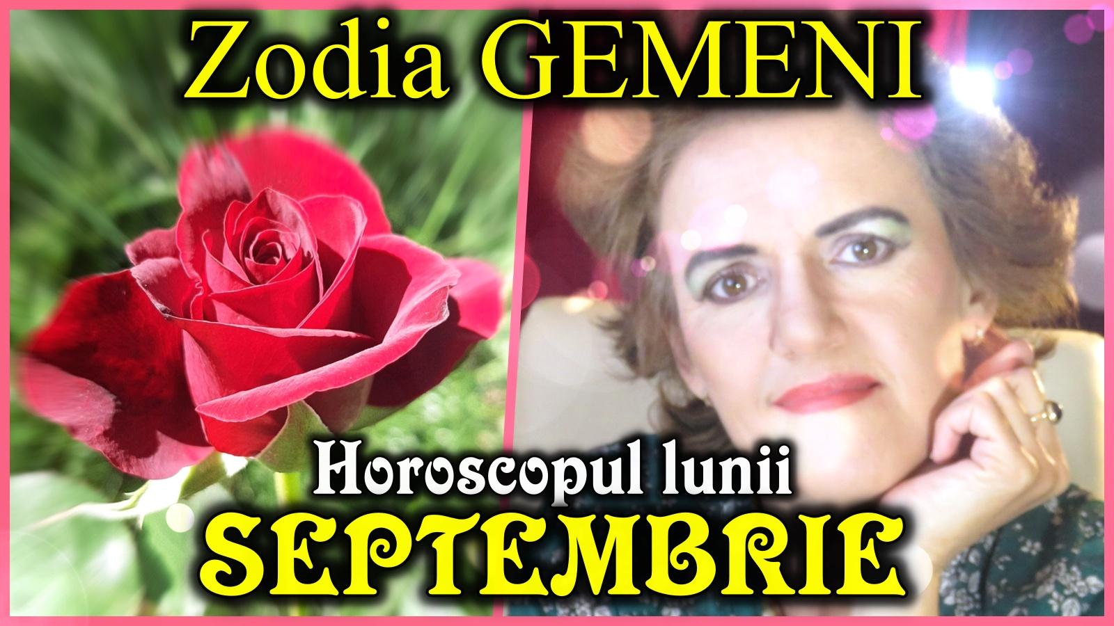 Horoscopul lunii SEPTEMBRIE * Zodia GEMENILOR