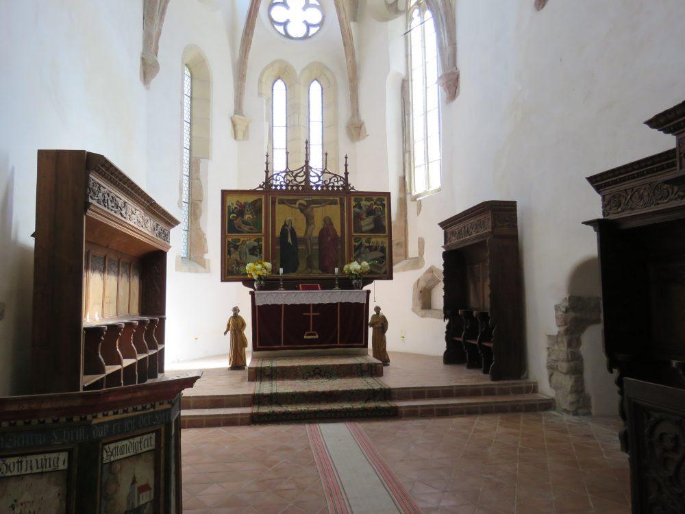 Triptic Biserica fortificata din Prejmer Brasov