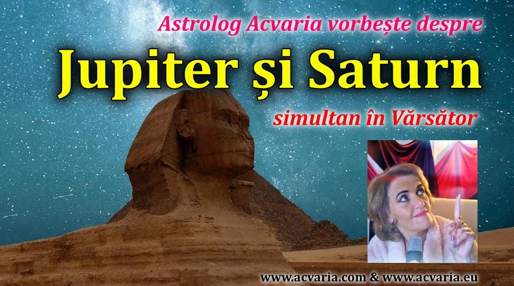 Despre Saturn si Jupiter simultan in Varsator