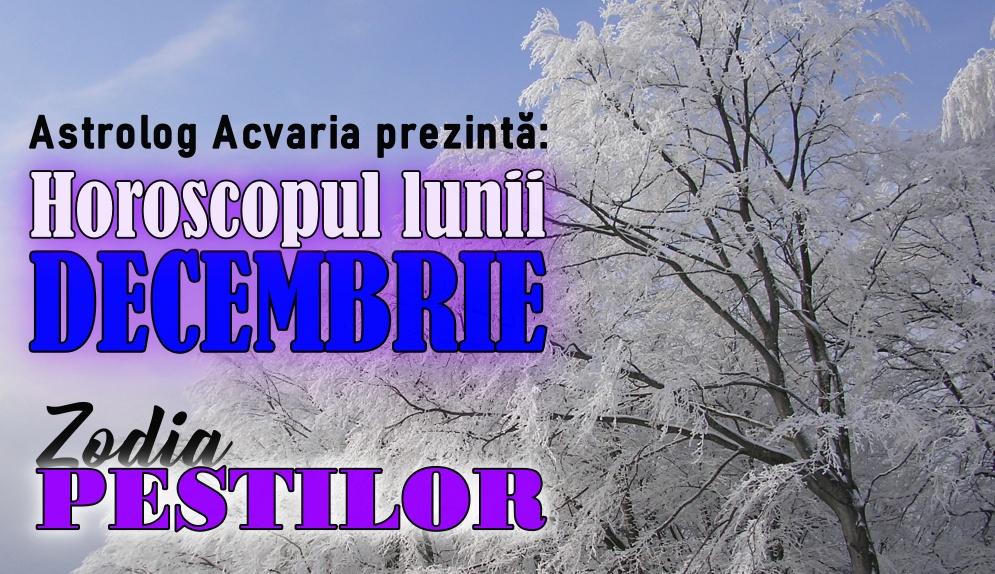 Horoscopul lunii DECEMBRIE * Zodia PESTILOR